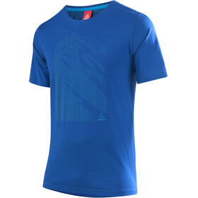 Löffler Transtex Single CF t-shirt Heren blauw